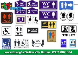 File Vector Nhà Vệ Sinh - Biểu Tượng WC