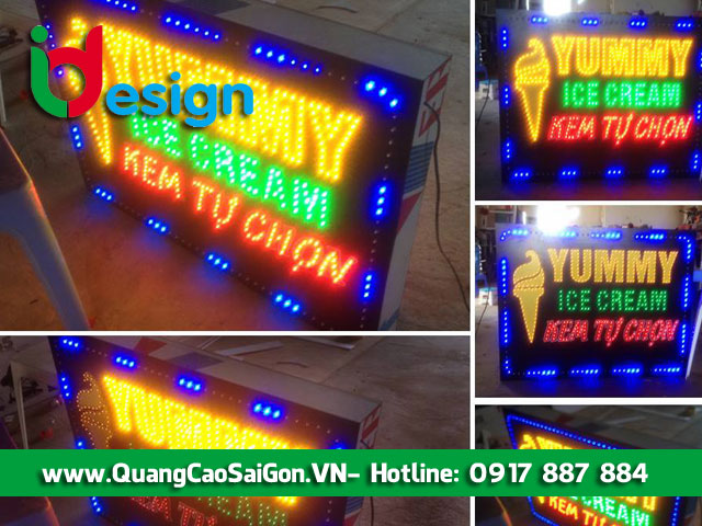 Hộp đèn LED giá rẻ