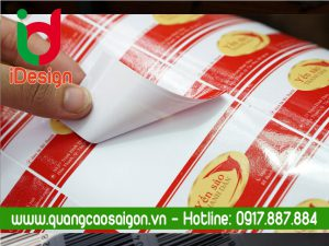 In decal Yến sào