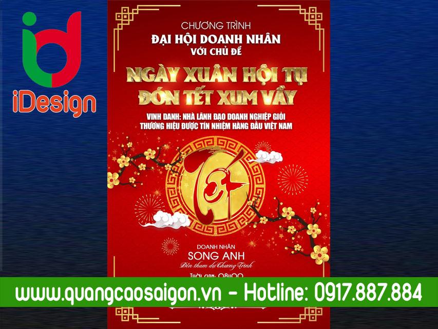 Share File Backrop Đón Xuân