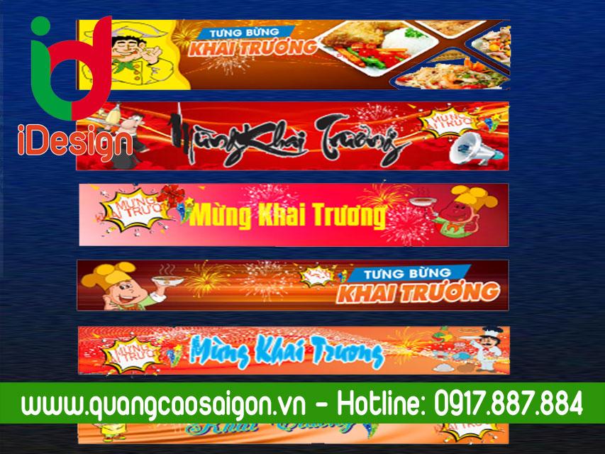 Vector File Băng Rôn Khai Trương