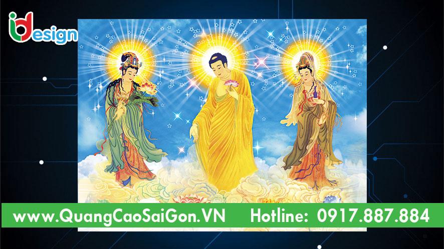 Tranh Phật Giáo Tây Phương Cực Lạc
