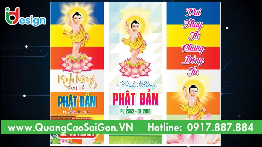 Băng rôn lể Phật Đản