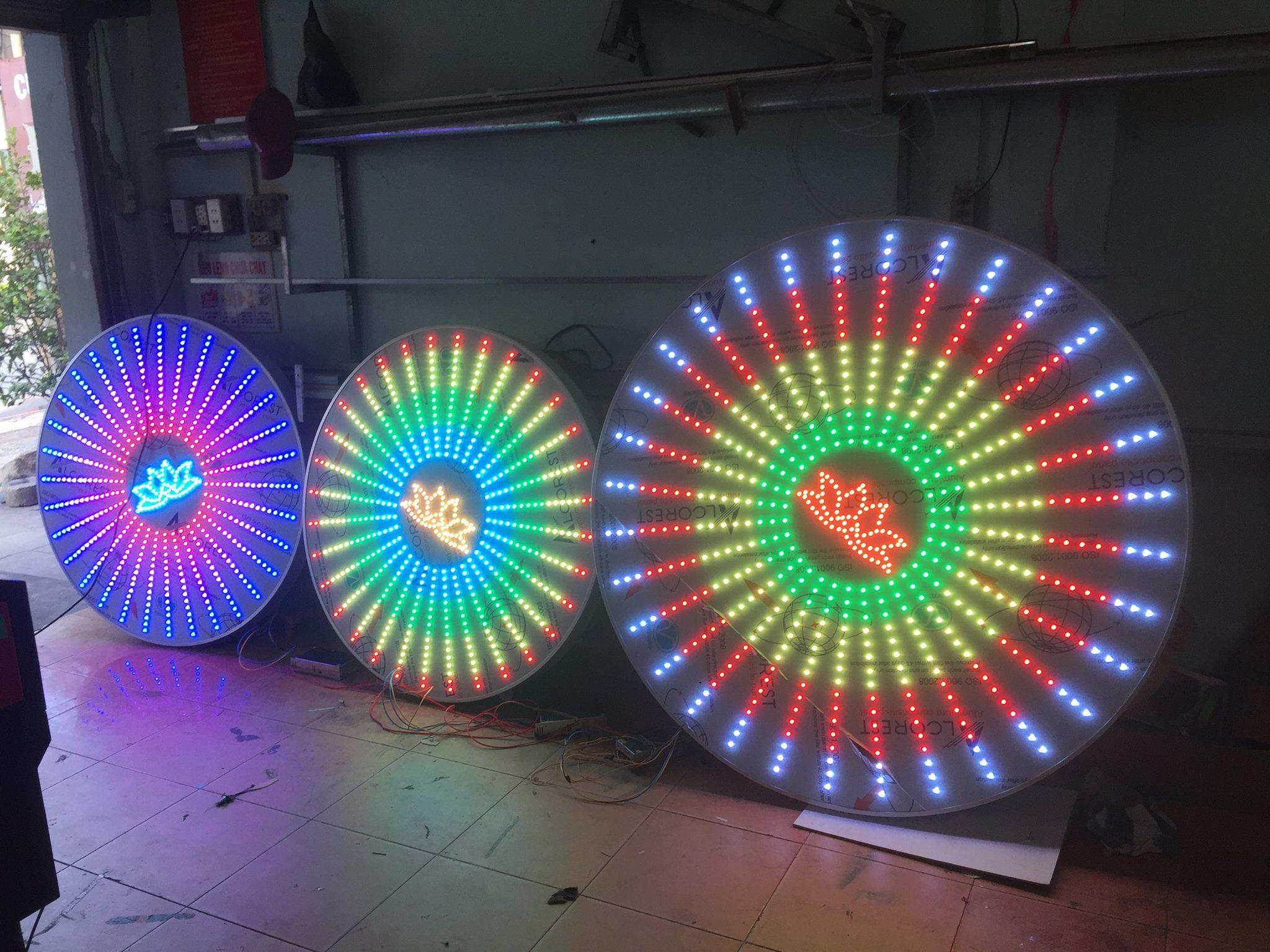 Hào quang LED full đẹp